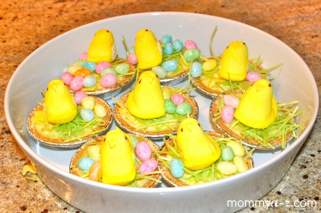 Easter No-Bake Cheesecake Peeps Nest - Mommy A-Z