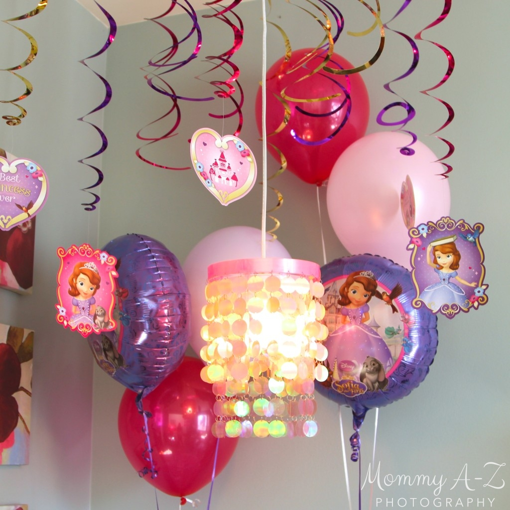 sofia the first birthday party blogher. Black Bedroom Furniture Sets. Home Design Ideas
